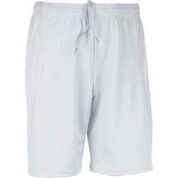vaatteet Miehet Shortsit / Bermuda-shortsit Proact Short  Multisport blanc