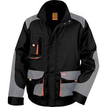vaatteet Miehet Pusakka Result Veste  Lite noir/gris/orange