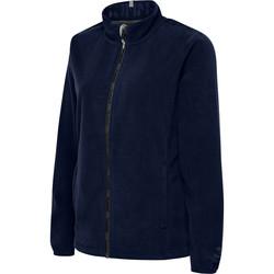 vaatteet Naiset Fleecet Hummel Veste femme  full zip North Fleece bleu foncé