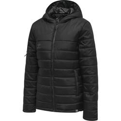 vaatteet Naiset Toppatakki Hummel Veste femme  Quilted North noir/gris anthracite