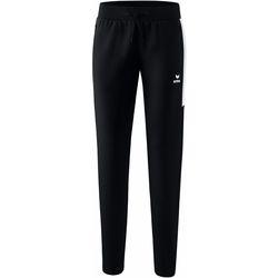 vaatteet Naiset Verryttelyhousut Erima Pantalon femme  Worker Squad noir/blanc