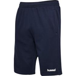 vaatteet Miehet Shortsit / Bermuda-shortsit Hummel Short  hmlGO cotton bleu marine