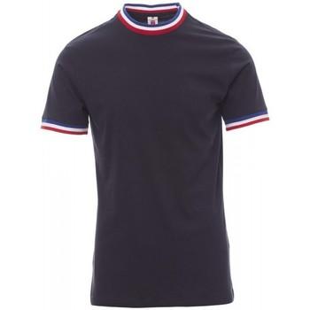 vaatteet Miehet Lyhythihainen t-paita Payper Wear T-shirt Payper Flag bleu roi/italie