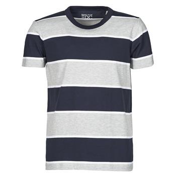 vaatteet Miehet Lyhythihainen t-paita Esprit T-SHIRTS Sininen
