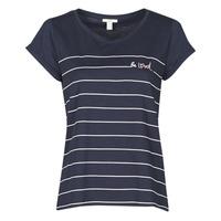 vaatteet Naiset Lyhythihainen t-paita Esprit T-SHIRTS Sininen