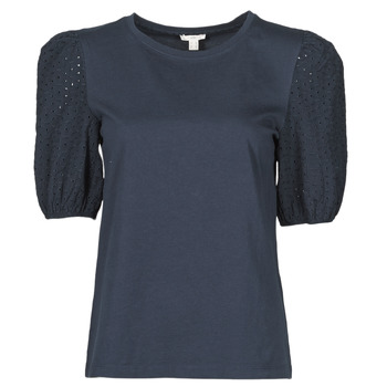 vaatteet Naiset Lyhythihainen t-paita Esprit T-SHIRTS Musta