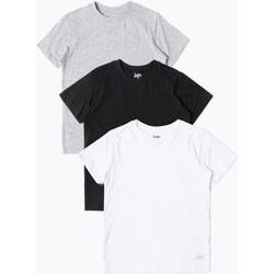vaatteet Lapset Lyhythihainen t-paita Hype  Black/White/Grey