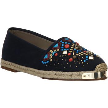 kengät Naiset Espadrillot Giuseppe Zanotti E66084 NAVY beige