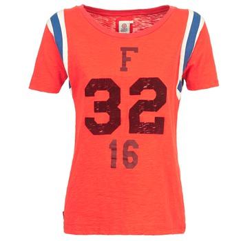vaatteet Naiset Lyhythihainen t-paita Franklin & Marshall POINTO CORAIL