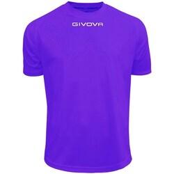 vaatteet Miehet Lyhythihainen t-paita Givova One Violetit