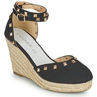 kengät Naiset Sandaalit ja avokkaat Café Noir NOEL Musta