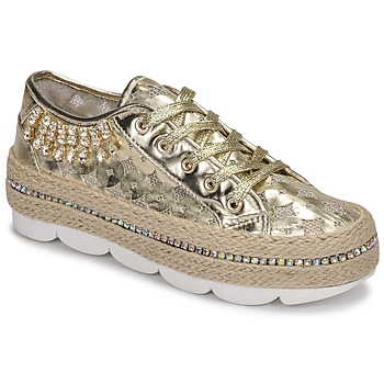 kengät Naiset Matalavartiset tennarit Café Noir KINITA Kulta