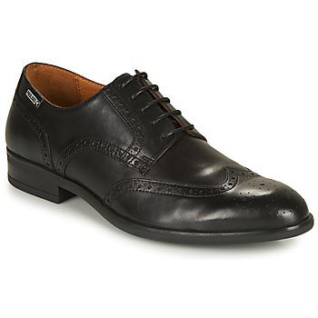 kengät Miehet Derby-kengät Pikolinos BRISTOL M7J Musta