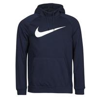vaatteet Miehet Svetari Nike DF HDIE PO SWSH Sininen / Valkoinen