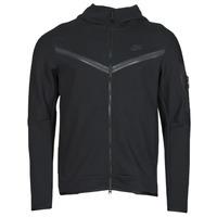 vaatteet Miehet Ulkoilutakki Nike NSTCH FLC HOODIE FZ WR Musta