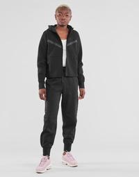 vaatteet Naiset Verryttelyhousut Nike NSTCH FLC ESSNTL HR PNT Musta