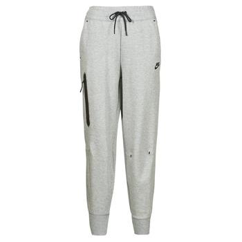 vaatteet Naiset Verryttelyhousut Nike NSTCH FLC ESSNTL HR PNT Harmaa / Musta