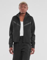 vaatteet Naiset Ulkoilutakki Nike NSTCH FLC WR ESSNTL FZ HDY Musta