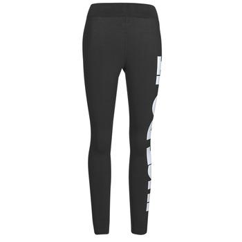 vaatteet Naiset Legginsit Nike NSESSNTL GX HR LGGNG JDI Musta / Valkoinen
