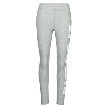 vaatteet Naiset Legginsit Nike NSESSNTL GX HR LGGNG JDI Harmaa / Valkoinen