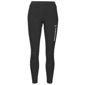 vaatteet Naiset Legginsit Nike NSSWSH LGGNG HR Musta / Valkoinen
