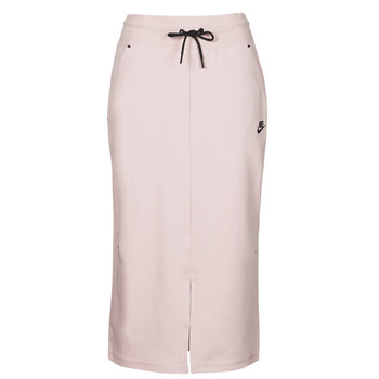 vaatteet Naiset Hame Nike NSTCH FLC SKIRT Beige / Musta