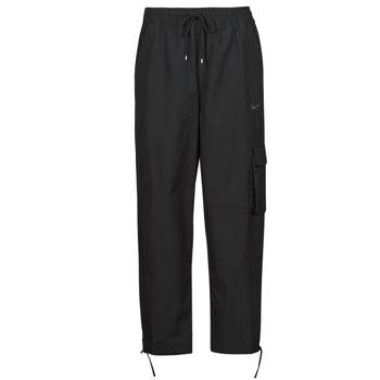 vaatteet Naiset Verryttelyhousut Nike NSICN CLASH PANT CANVAS HR Musta / Harmaa