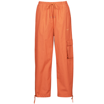 vaatteet Naiset Verryttelyhousut Nike NSICN CLASH PANT CANVAS HR Ruskea / Oranssi