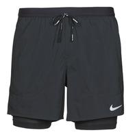 vaatteet Miehet Shortsit / Bermuda-shortsit Nike DF FLX STRD 2IN1 SHRT 5IN Musta