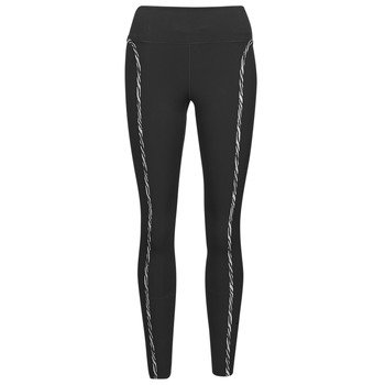 vaatteet Naiset Legginsit Nike NIKE ONE LUXE ICNCLSH TGT Musta / Violetti
