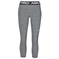 vaatteet Naiset Legginsit Nike NIKE PRO 365 TIGHT CROP Harmaa / Valkoinen