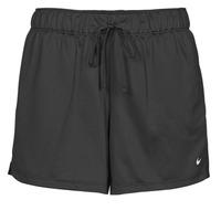 vaatteet Naiset Shortsit / Bermuda-shortsit Nike DF ATTACK SHRT Musta / Valkoinen
