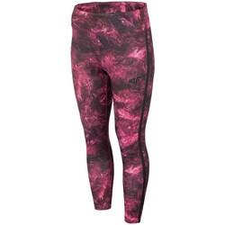 vaatteet Naiset Housut 4F SPDF010 Tummanpunainen