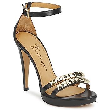 kengät Naiset Sandaalit ja avokkaat Eva Turner  Black