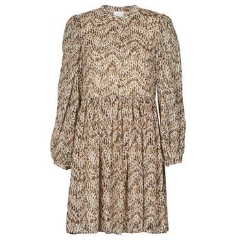 vaatteet Naiset Lyhyt mekko Vila VISUNARA Beige