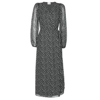 vaatteet Naiset Pitkä mekko Vila VICELIMA Musta