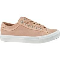 kengät Naiset Matalavartiset tennarit Lee Cooper LCWL2031012 Valkoiset, Vaaleanpunaiset