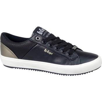 kengät Miehet Matalavartiset tennarit Lee Cooper LCJL2031041 Mustat, Kullanväriset