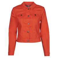 vaatteet Naiset Farkkutakki Noisy May NMDEBRA Punainen