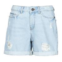 vaatteet Naiset Shortsit / Bermuda-shortsit Noisy May NMSMILEY Sininen / Clear