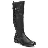 kengät Naiset Saappaat Rieker  Musta
