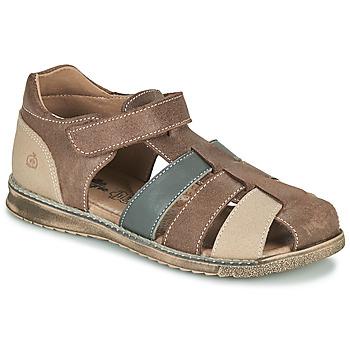 kengät Pojat Sandaalit ja avokkaat Citrouille et Compagnie FRINOUI Ruskea