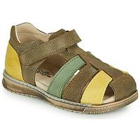 kengät Pojat Sandaalit ja avokkaat Citrouille et Compagnie FRINOUI Khaki