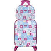 laukut Tytöt Matkalaukut Itaca ARAS Matkustamon matkalaukku plus tarvitsevat tyttö Sininen-Fuchsia