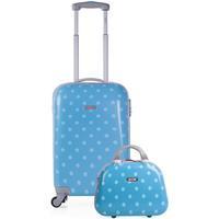 laukut Tytöt Matkalaukut Skpat TOPOS Matkustamon matkalaukku ja tarve tyttö Turkoosi