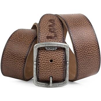 Asusteet / tarvikkeet Miehet Vyöt Lois Cracked leather Ruskea