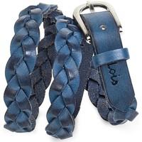 Asusteet / tarvikkeet Naiset Vyöt Lois Braided Leather Sininen