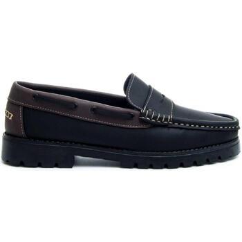 kengät Miehet Mokkasiinit Montevita 68078 BLACK