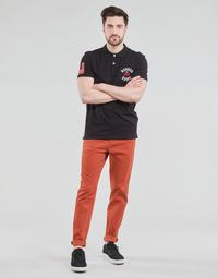 vaatteet Miehet Chino-housut / Porkkanahousut Jack & Jones JJIMARCO Punainen