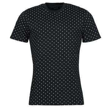 vaatteet Miehet Lyhythihainen t-paita Jack & Jones JJMINIMAL Laivastonsininen